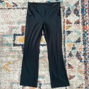 Pure J Jill High Rise Black Yoga Pants Leggings